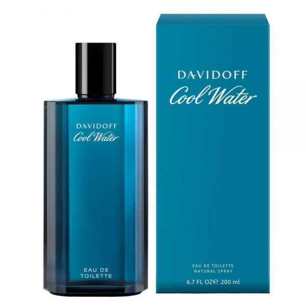 COOL WATER EDT 200ML SP/H 1